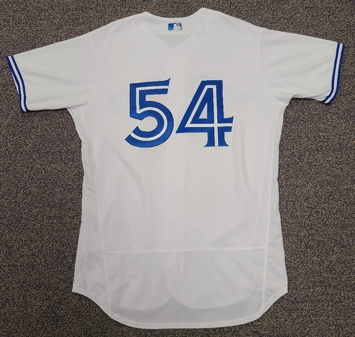Photo of Authenticated Team Issued 2020 Summer Training Camp Jersey: #54 Sean Reid-Foley. Size 46.