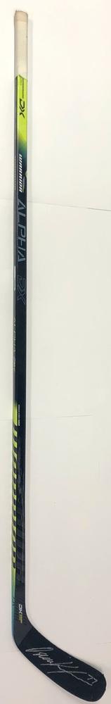 #77 Oscar Klefbom Game Used Stick - Autographed - Edmonton Oilers