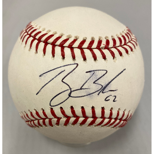 Photo of Giants Community Fund - Smudged Autographed Baseball signed by Ray Black