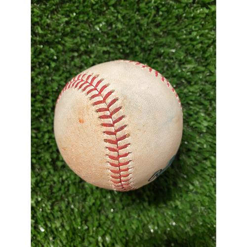 Photo of Vladimir Guerrero Jr. Hit Single Baseball - May 13, 2021 off Charlie Morton