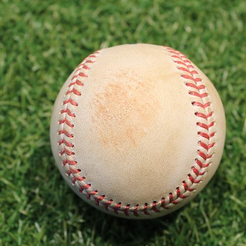 Photo of Game-Used Baseball: Harold Ramirez 22nd Career Double & 53rd Career RBI (CLE@KC 5/4/21)