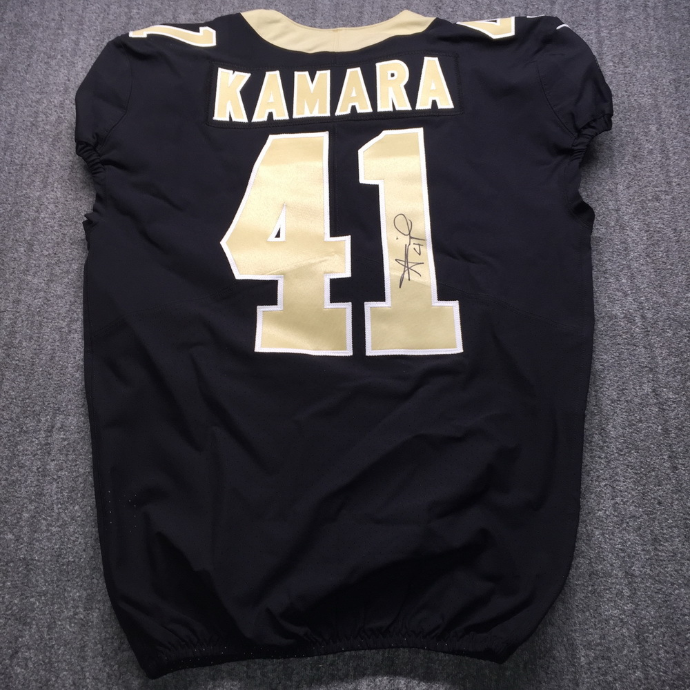NFL - Saints Alvin Kamara Signed Jersey Size 44