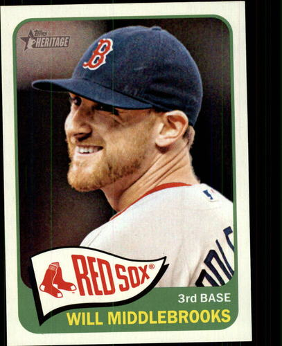 Photo of 2014 Topps Heritage #289 Will Middlebrooks