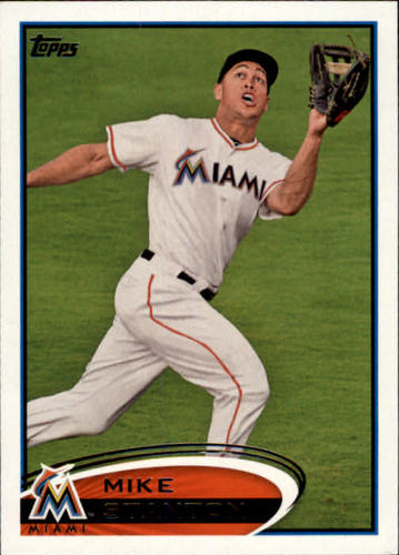 Photo of 2012 Topps #567 Mike Stanton