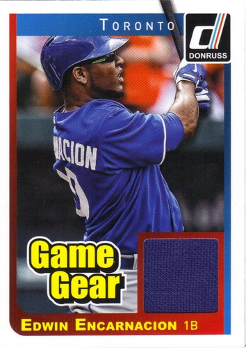 Photo of 2014 Donruss Game Gear #44 Edwin Encarnacion