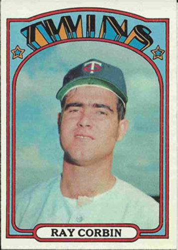 Photo of 1972 Topps #66 Ray Corbin RC