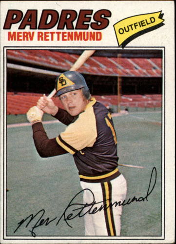 Photo of 1977 Topps #659 Merv Rettenmund