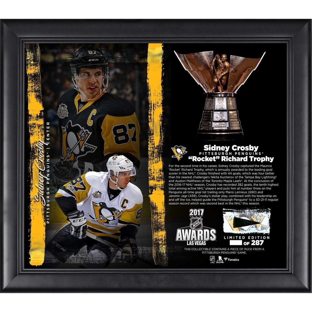 Sidney Crosby Pittsburgh Penguins Framed 15