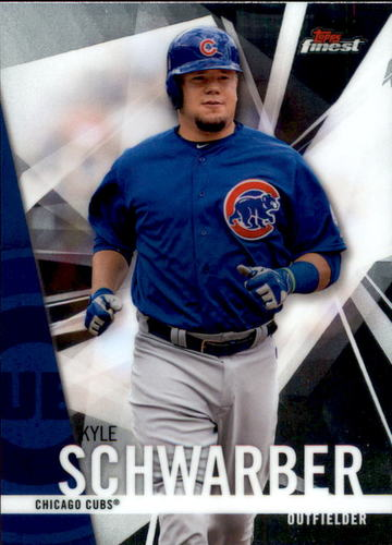 Photo of 2017 Finest #54 Kyle Schwarber