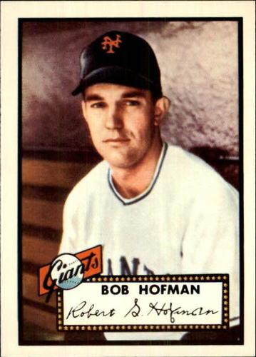 Photo of 1983 Topps 1952 Reprint #371 Bobby Hofman