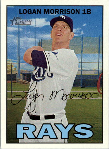 Photo of 2016 Topps Heritage #246 Logan Morrison