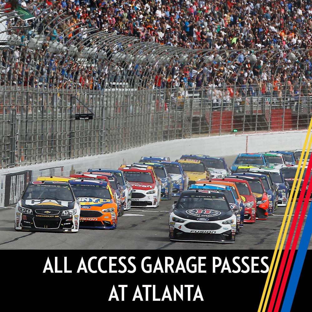 All Access Garage Passes at Atlanta!