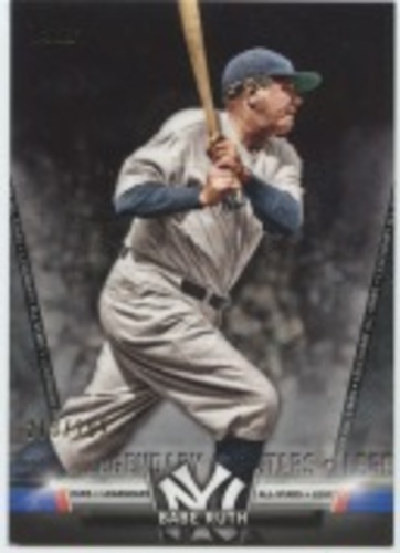 Photo of 2018 Topps Update Salute #S1 Babe Ruth