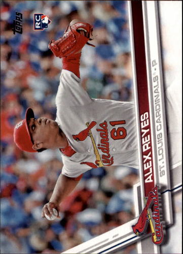 Photo of 2017 Topps #103 Alex Reyes Rookie Card