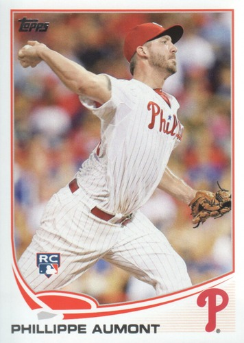 Photo of 2013 Topps #646 Phillippe Aumont RC