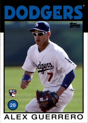 Photo of 2014 Topps Archives #116 Alex Guerrero RC