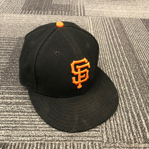 Photo of 2018 Game Used Regular Season Cap worn by #50 Ty Blach on 9/30 vs. Los Angeles Dodgers - Size 7