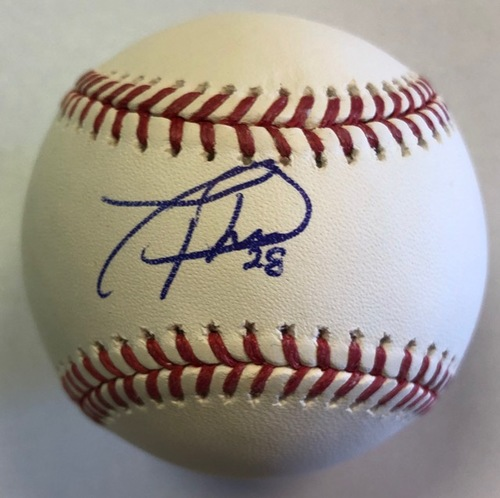 Photo of Tommy Pham Autographed Baseball