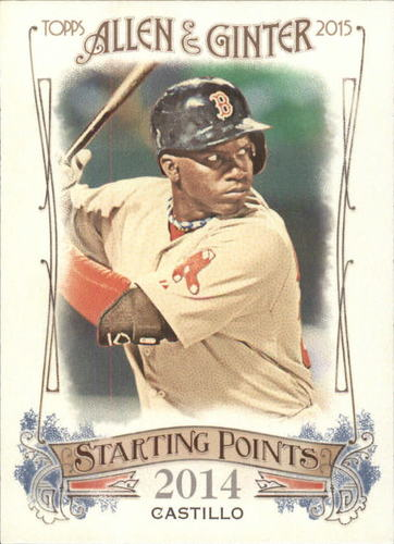 Photo of 2015 Topps Allen and Ginter Starting Points #SP10 Rusney Castillo