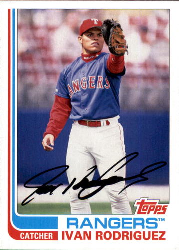 Photo of 2017 Topps Archives #185 Ivan Rodriguez