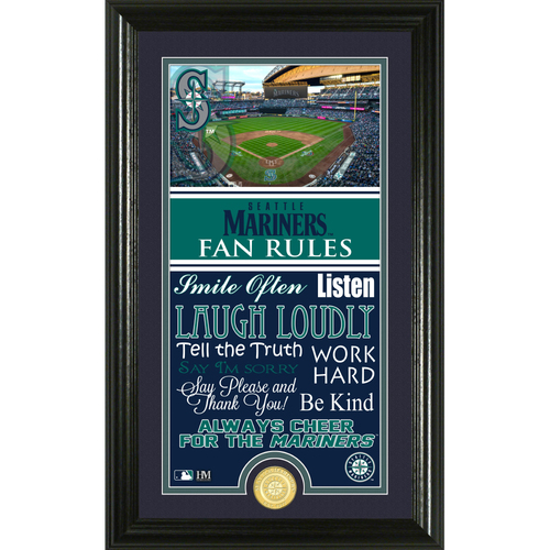 Photo of Seattle Mariners Fan Rules Supreme Bronze Coin Photo Mint