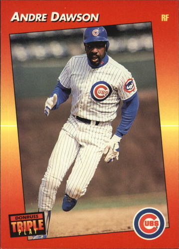 Photo of 1992 Triple Play #174 Andre Dawson