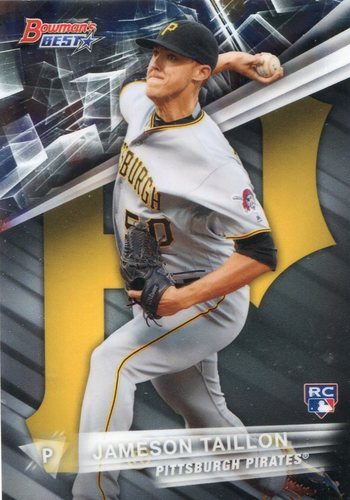 Photo of 2016 Bowman's Best #37 Jameson Taillon Rookie Card