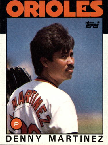 Photo of 1986 Topps #416 Dennis Martinez