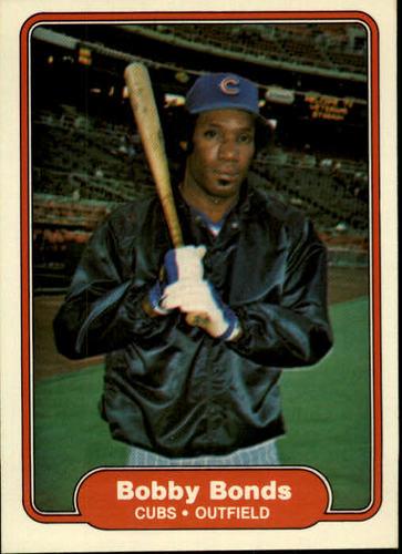 Photo of 1982 Fleer #588 Bobby Bonds