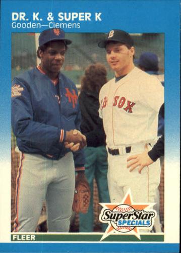 Photo of 1987 Fleer #640 Dwight Gooden/Roger Clemens