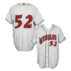 Photo of #52 Game Worn White Home Jersey
