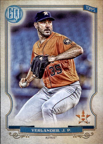 Photo of 2020 Topps Gypsy Queen #250 Justin Verlander