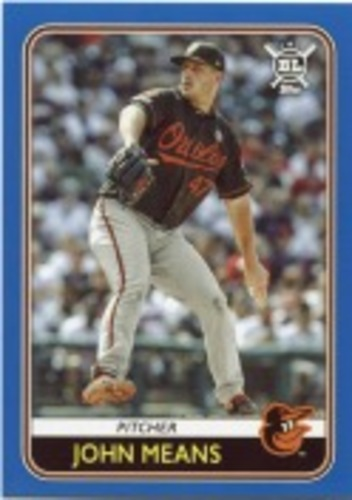 Photo of 2020 Topps Big League Blue #147 John Means