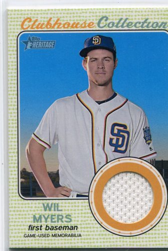 Photo of 2017 Topps Heritage Clubhouse Collection Relics #CCRWM Wil Myers