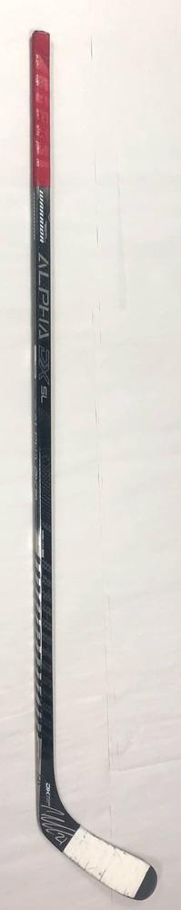 #21 Nino Niederreiter Game Used Stick - Autographed - Carolina Hurricanes