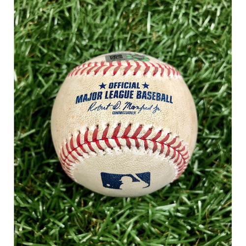 Photo of Game Used Baseball: Alex Verdugo single off Josh Fleming - September 10, 2020 v BOS