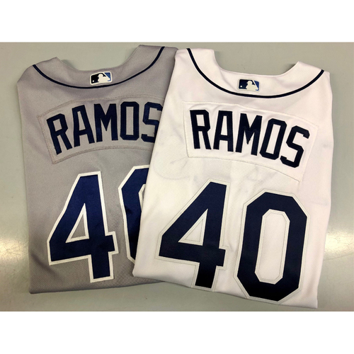Photo of Team Issued 20th Anniversary Jersey Package: Wilson Ramos