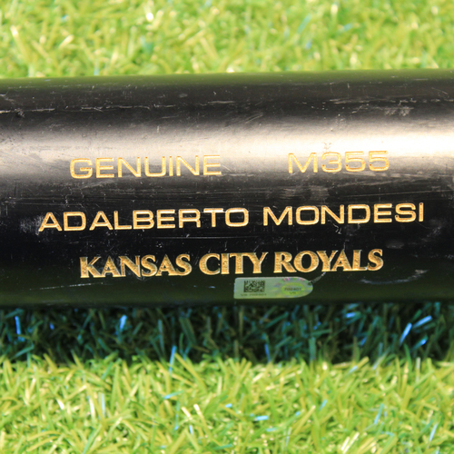 Photo of Team-Issued Bat: Adalberto Mondesi #27