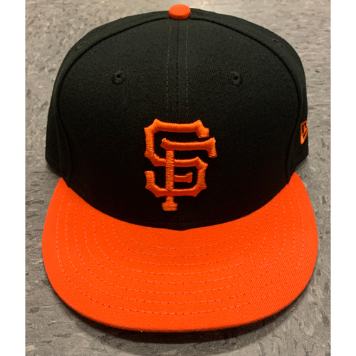 Photo of 2020 Game-Used and Team-Issued Orange-Bill Alternate Caps - Choose Your Size and Player!