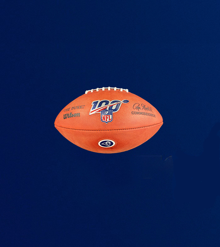 "Photo of 100th NFL Season Authentic ""The Duke"" Football"