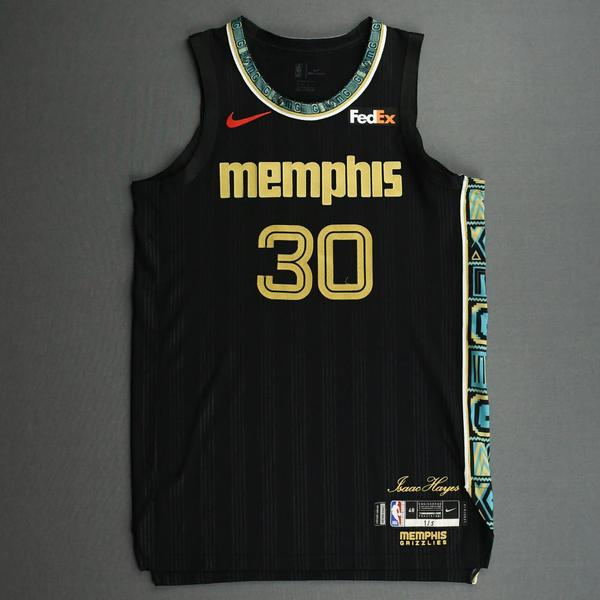 Image of Sean McDermott - Memphis Grizzlies - Game-Worn City Edition Jersey - Dressed, Did Not Play (DNP) - 2020-21 NBA Season