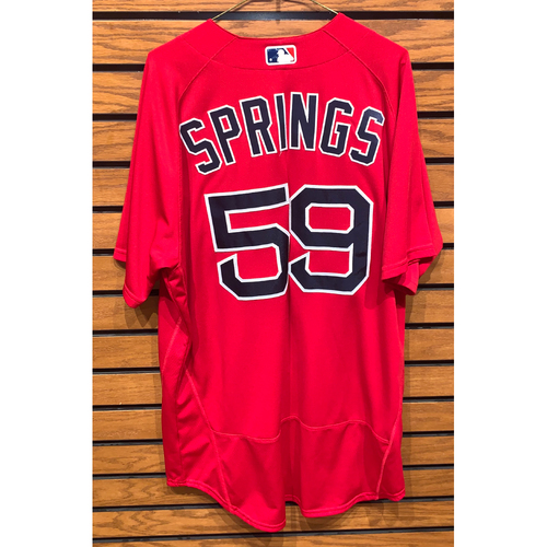 Photo of Jeffrey Springs Team Issued 2020 spring Training Jersey