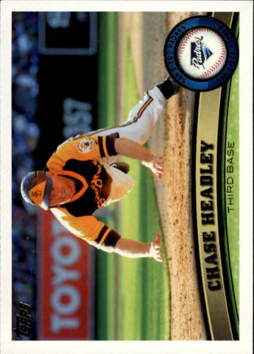 Photo of 2011 Topps #206 Chase Headley