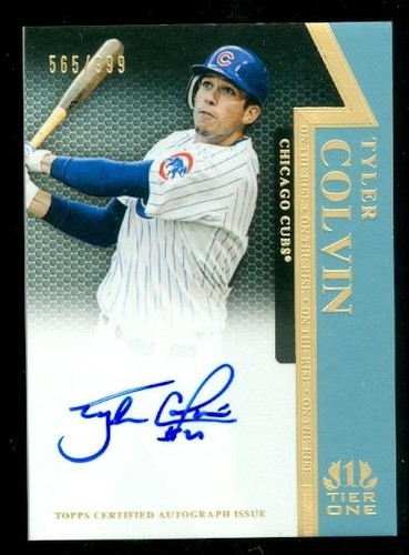 Photo of 2011 Topps Tier One On The Rise Autographs #TC Tyler Colvin/999