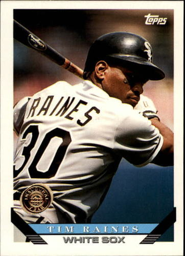 Photo of 1993 Topps Inaugural Rockies #675 Tim Raines