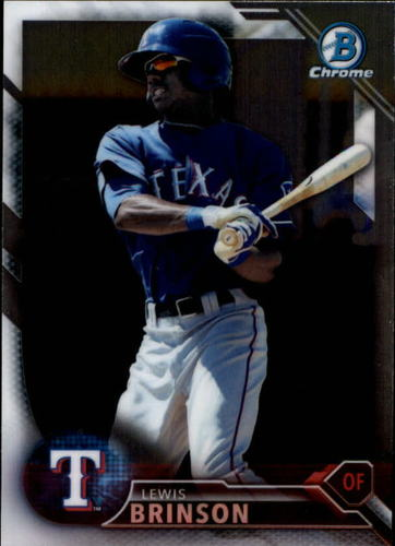 Photo of 2016 Bowman Chrome Prospects #BCP137 Lewis Brinson