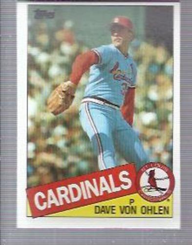 Photo of 1985 Topps #177 Dave Von Ohlen