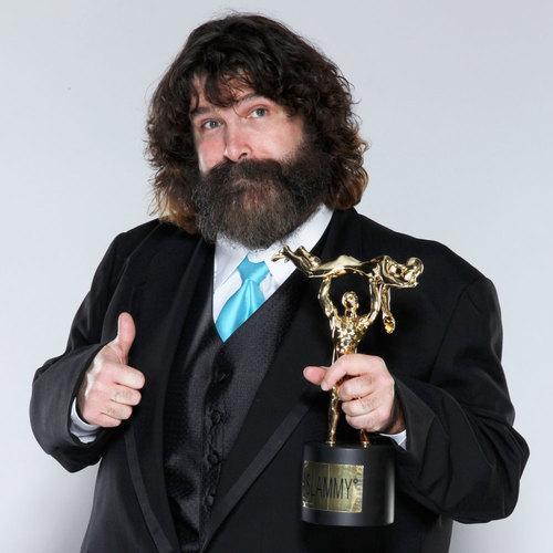 Mick Foley SIGNED WWE Replica Slammy Award