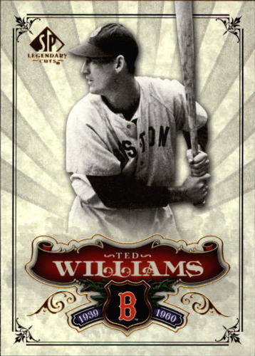 Photo of 2006 SP Legendary Cuts #29 Ted Williams