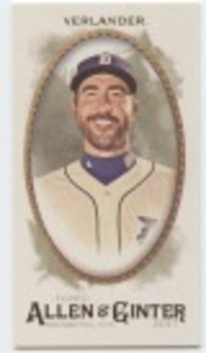 Photo of 2017 Topps Allen and Ginter Mini #146 Justin Verlander